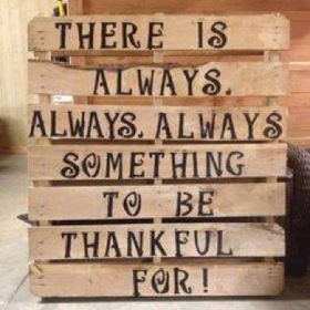Always Thankful!