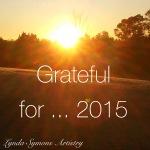 Grateful for... 2015