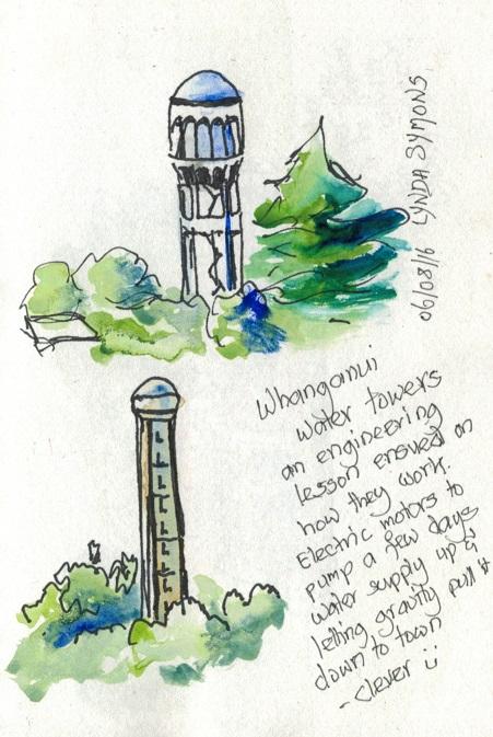 Whanganui Watertowers